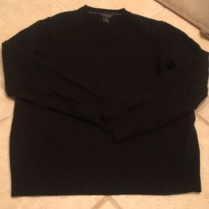 Black, Men's, Banana Republic Sweater, V neck